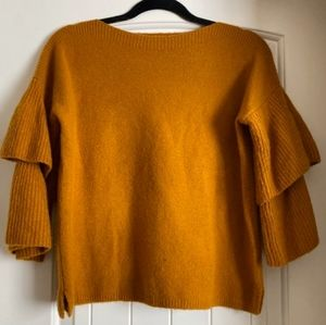 Pumpkin Colored Madewell Sweater
